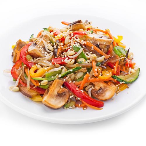 Жареные овощи рецепт с фото