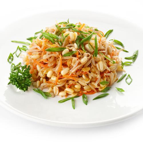 Салат из ростков сои рецепты
