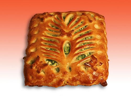 Пирог с зеленым луком и яйцом из дрожжевого теста рецепт с пошагово