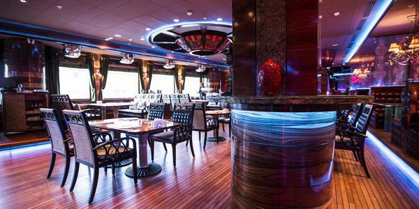 ресторан лодка на культуре