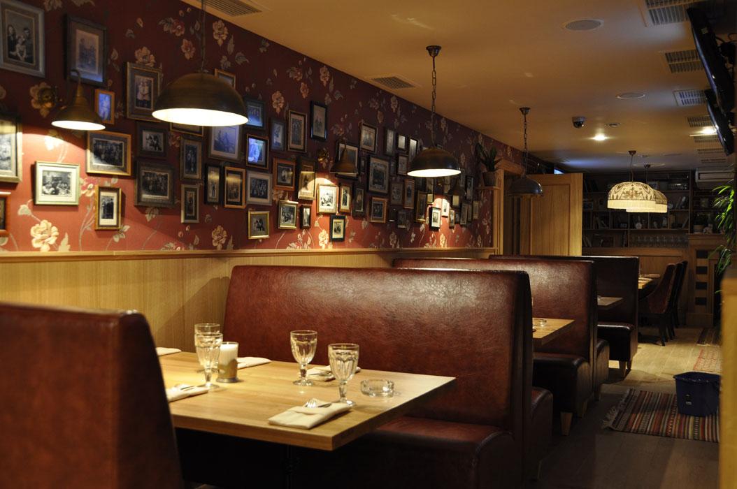 Ресторан Диван Москва